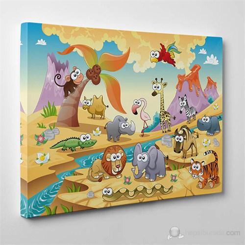 Tabloshop - Çocuk Odası Tabloları 10 - 75X50cm
