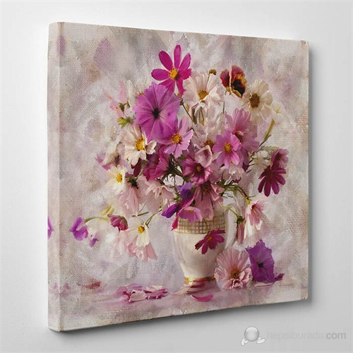 Tabloshop - Davine Flowering Canvas Tablo - 60X60cm
