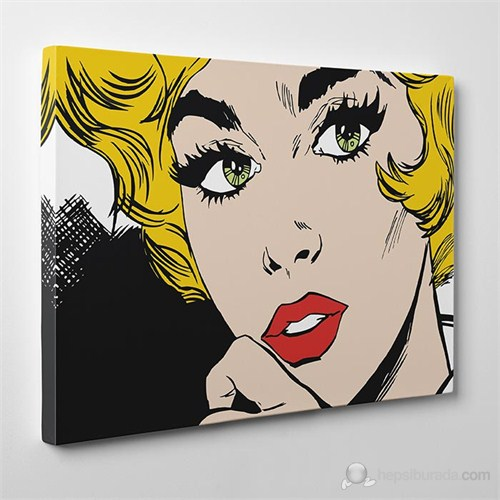 Tabloshop - Cartoon Vintage Canvas Tablo - 75X50cm