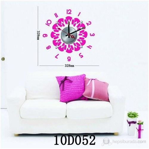 Karin Stickerli Tasarım Saat-32,8Cmx32,8Cm