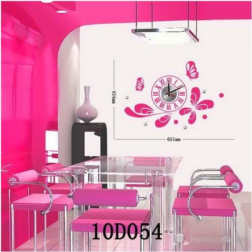 Karin Stickerli Tasarım Saat-65Cmx43cm