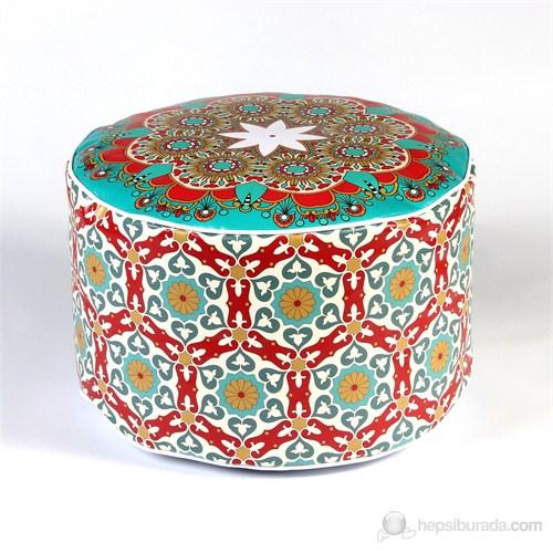 Moroccan Köşe Puf - MOR37