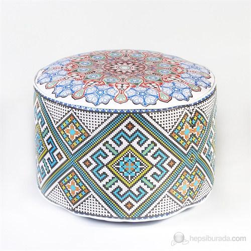 Moroccan Köşe Puf - MOR38