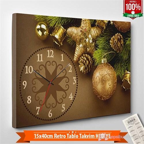 Tabloshop - Yılbaşı Özel Saat - Yb-06 - 45X30cm - Takvim Hediye