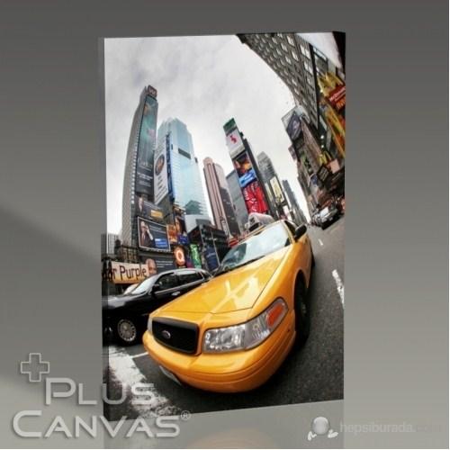Pluscanvas - New York - Yellow Cab I Tablo