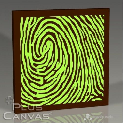 Pluscanvas - Fingerprint I Tablo