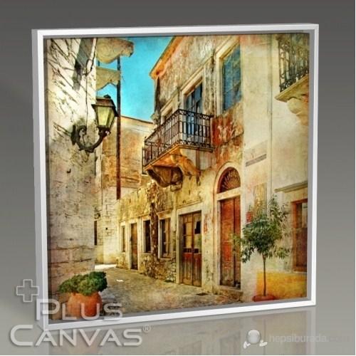 Pluscanvas - Yunan Evleri Tablo