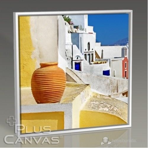 Pluscanvas - Santorini - Yunanistan Renkleri Iı Tablo