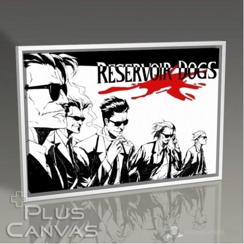 Pluscanvas - Rezervuar Köpekleri Tablo