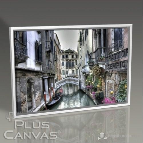 Pluscanvas - Venedik - Saray Ve Köprü Tablo