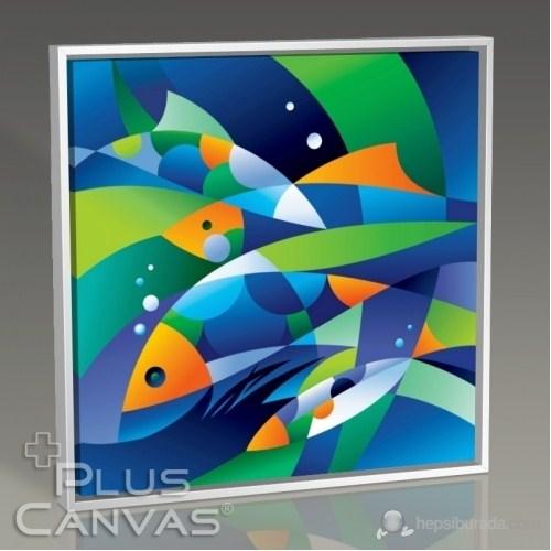 Pluscanvas - Aquatic I Tablo