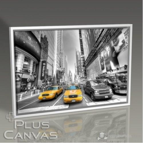 Pluscanvas - New York - Yellow Cab Tablo