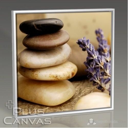 Pluscanvas - Pebbles And Lavander Tablo