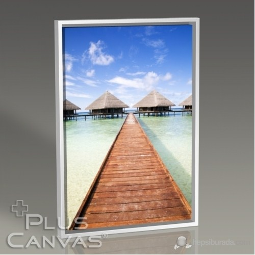 Pluscanvas - Maldives - Tropical Beach Tablo