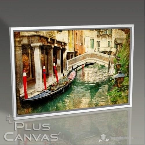 Pluscanvas - Venezia - Vintage Card Series Iı Tablo