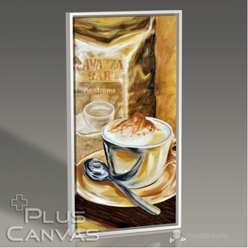 Pluscanvas - Coffee Time I Tablo