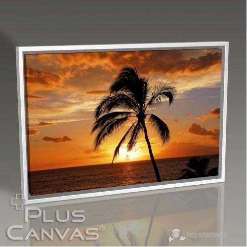 Pluscanvas - Sunset At Coast Tablo