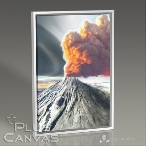 Pluscanvas - Volcano Tablo