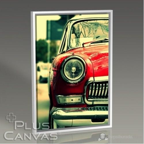 Pluscanvas - Retro Car Iı Tablo