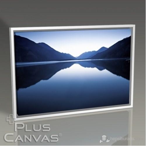 Pluscanvas - Hills Reflected On Lake Tablo