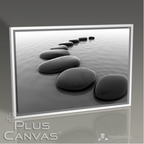 Pluscanvas - Pebbles On Sand Tablo