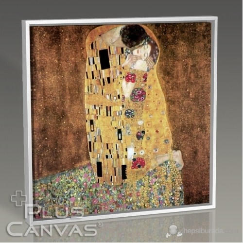 Pluscanvas - Gustav Klimt - The Kiss Tablo