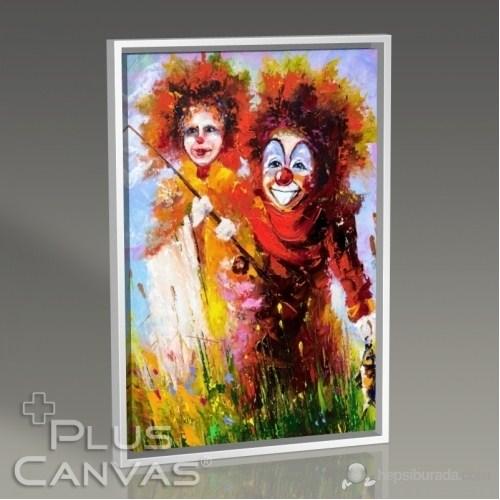 Pluscanvas - Baby Clowns Tablo