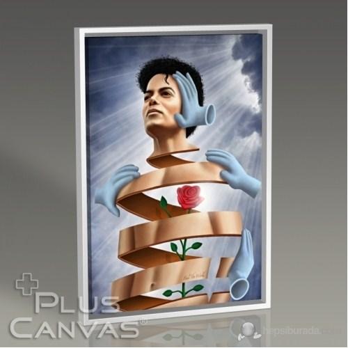 Pluscanvas - Michael Jackson - Heal The World Tablo