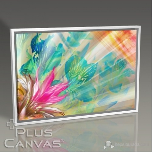 Pluscanvas - Floral Abstract Tablo