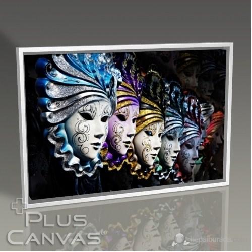Pluscanvas - Carnival Masks Tablo