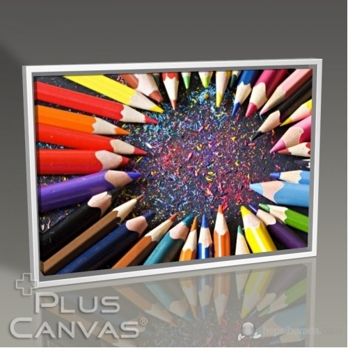 Pluscanvas - Coloured Pencils Iıı Tablo