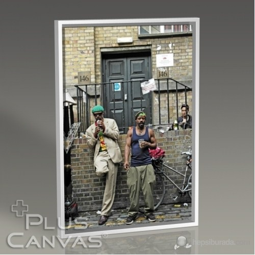 Pluscanvas - Kerem Soyoz - Around Brick Lane Tablo