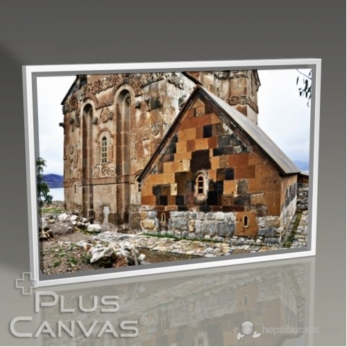 Pluscanvas - Kerem Soyoz - Ahdamar Church Tablo