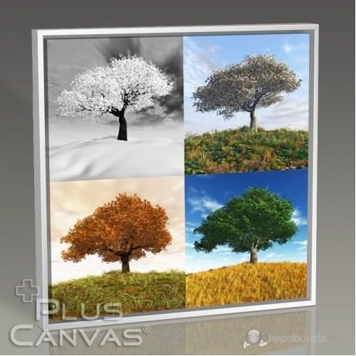 Pluscanvas - Four Seasons Tablo