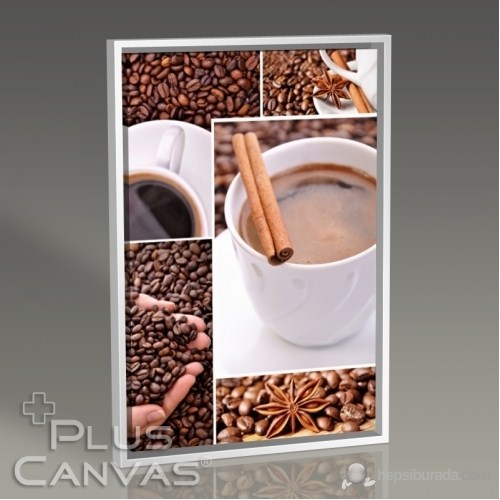Pluscanvas - Coffee And Cinnamon Tablo