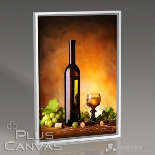 Pluscanvas - Wine And Grapes Tablo