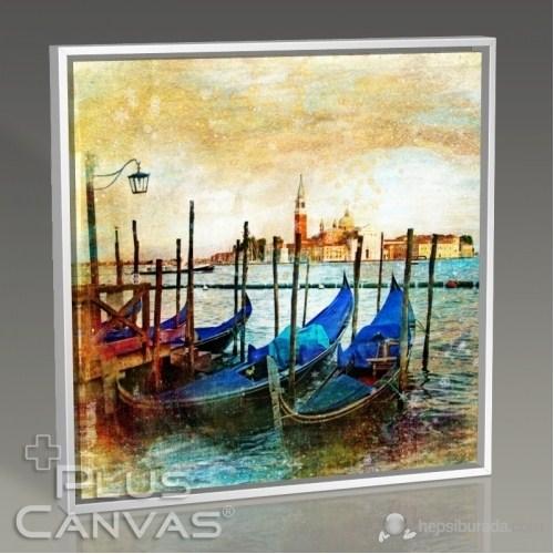 Pluscanvas - Venezia - Boats Tablo