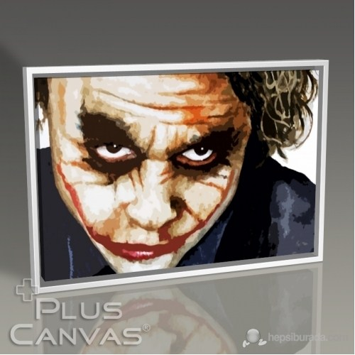 Pluscanvas - Batman - The Joker - Heath Ledger Tablo