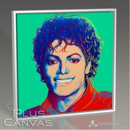 Pluscanvas - Andy Warhol - Michael Jackson Tablo