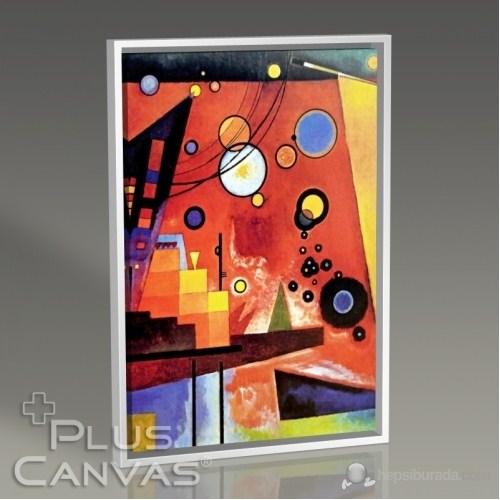 Pluscanvas - Wassily Kandinsky - Heavy Red Tablo