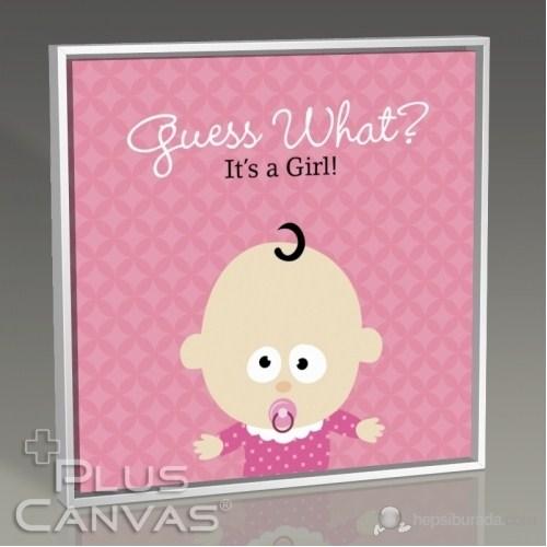 Pluscanvas - It İs A Girl Tablo
