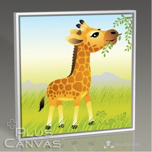 Pluscanvas - Giraffe Tablo