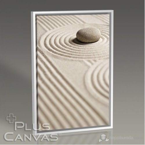 Pluscanvas - Pebble On Sand I Tablo