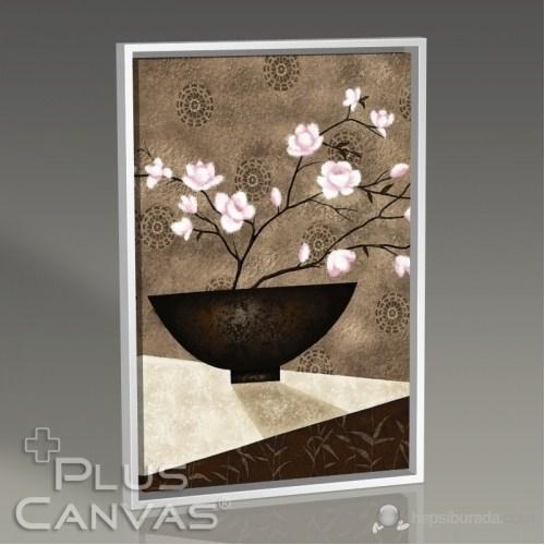 Pluscanvas - Cherry Blossom İn Bowl Tablo