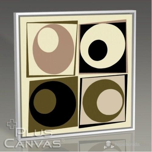 Pluscanvas - Four Circles Tablo