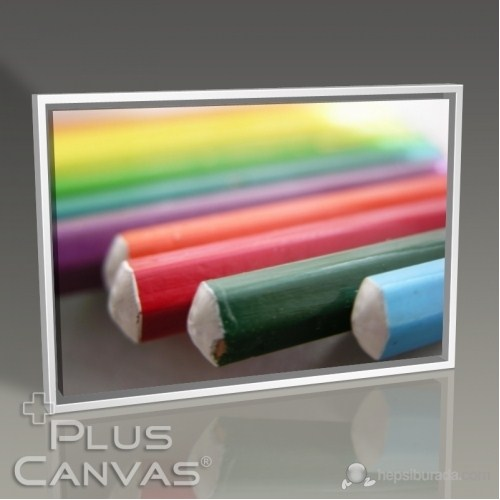 Pluscanvas - Kerem Soyoz - Coloured Pencils I Tablo
