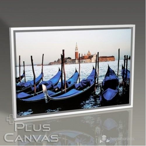 Pluscanvas - Venezia - Gondola Tablo