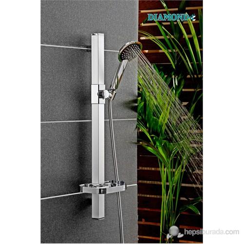 Argento Oval Sürgülü Sistem Duş Seti