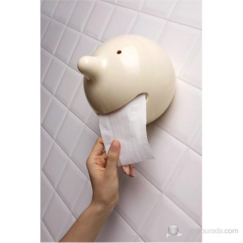 Propaganda Bay P Tuvalet Kağıtlığı Beyaz