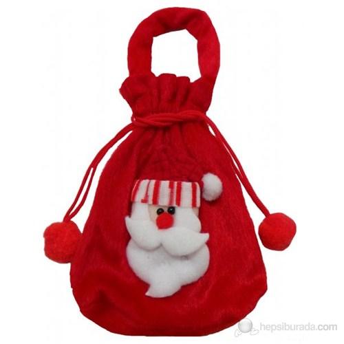 Yılbaşı Noel Baba Hediye Çantası